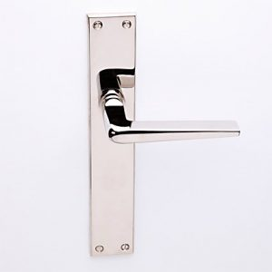 Burchartz nikkel op Bauhaus schild blind