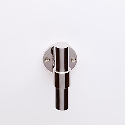 Weimar T-model nikkel op rond rozet