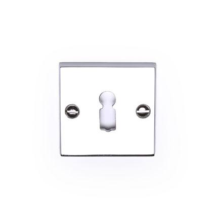 sleutelrozet vierkant chroom